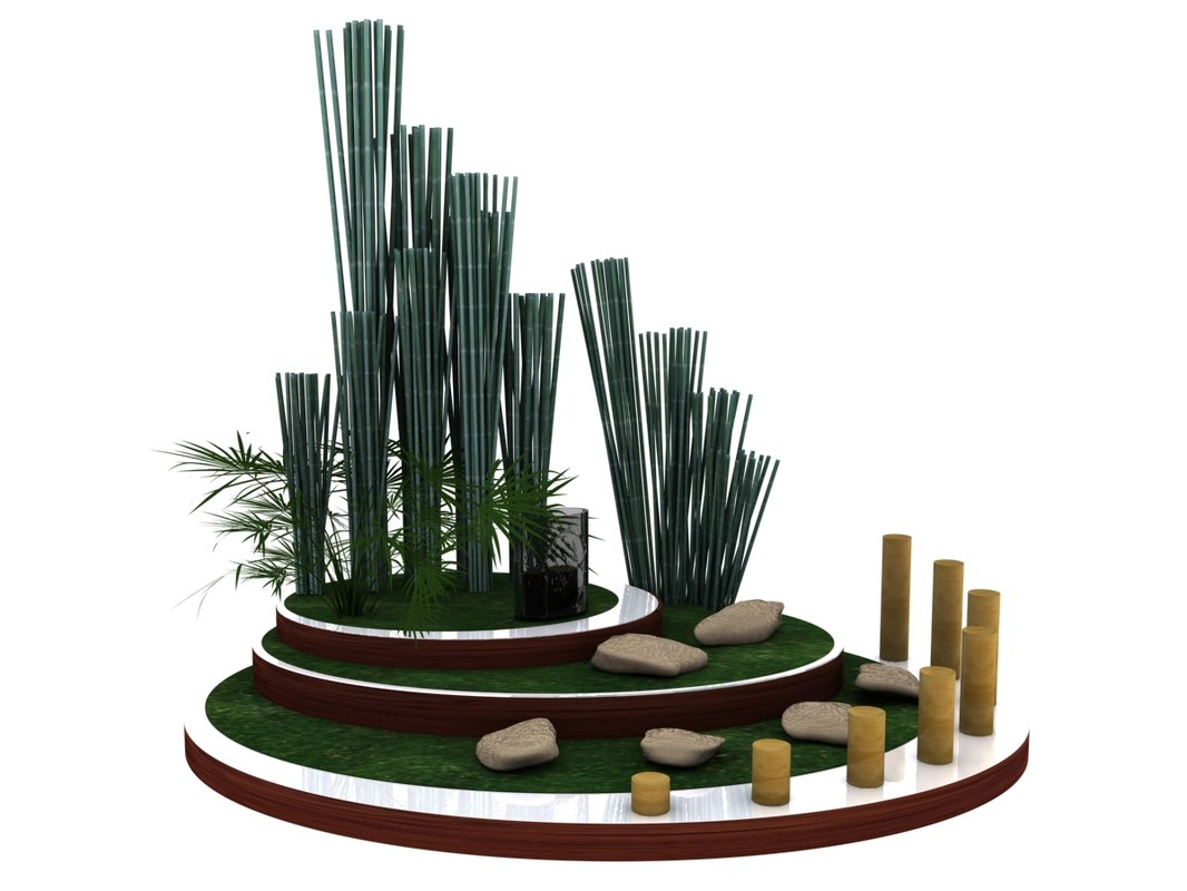 3d foyer island model