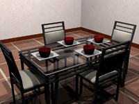 3d dining room table