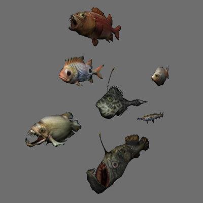 school fish games 3d max