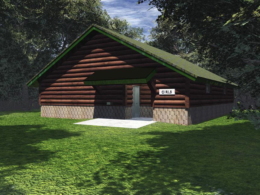 3d bathhouse camp