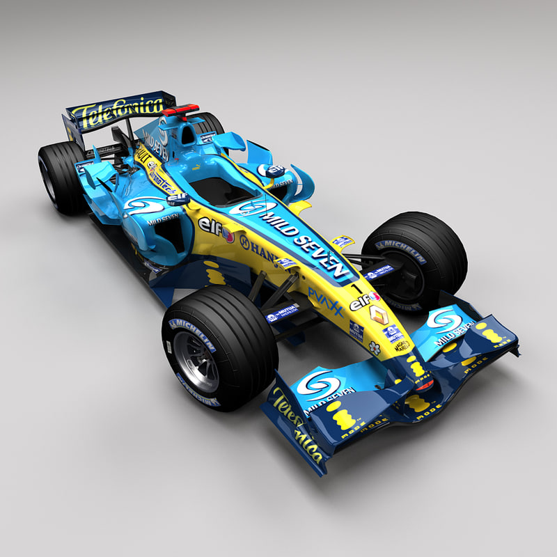 maya renault r26 car f1