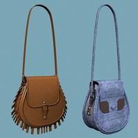 3dsmax handbag fashioned style
