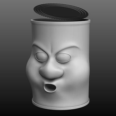 3d tin man