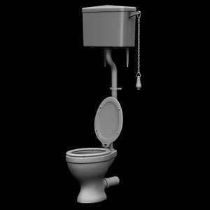 maya toilet old cistern