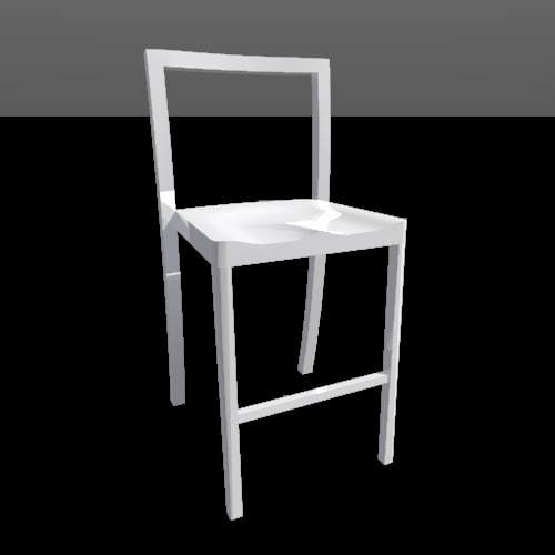 Icon Counter Stool Dwg