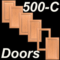 500C-SET-Frame-C-Wood Kitchen Cabinet doors