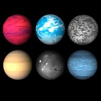 3ds max 6 alien planets