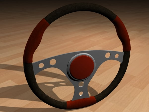3ds racing steering wheel