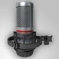 akg b microphone 3d max