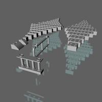 free lego brick 3d model