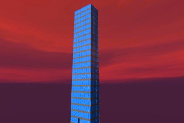 scyscraper 1 3d c4d