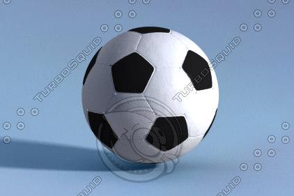soccer ball 3d lwo