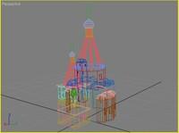 russian church 3d max
