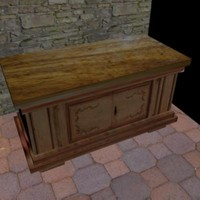 decorate furniture 3d model