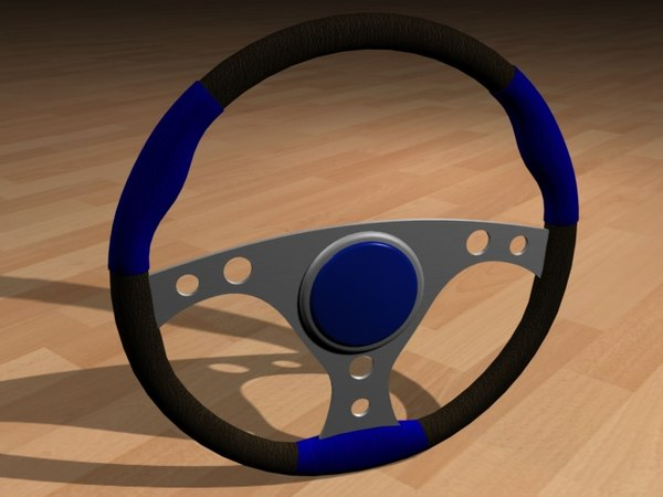 racing steering wheel dxf