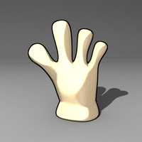 3ds max hand