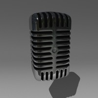 3ds max microphone mic
