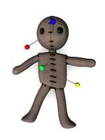 3d voodoo dummy