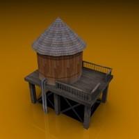 3ds max pelican watertower