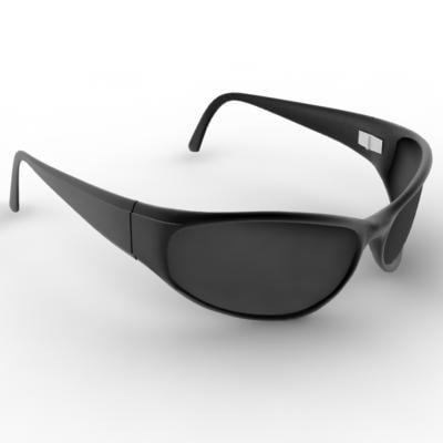 arnette sun glasses 3d model