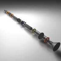 3dsmax blow gun