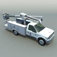 Crane Pickup Truck