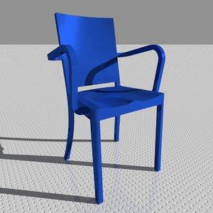 hudson armchair 3ds