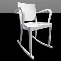 3ds max hudson rocking chair