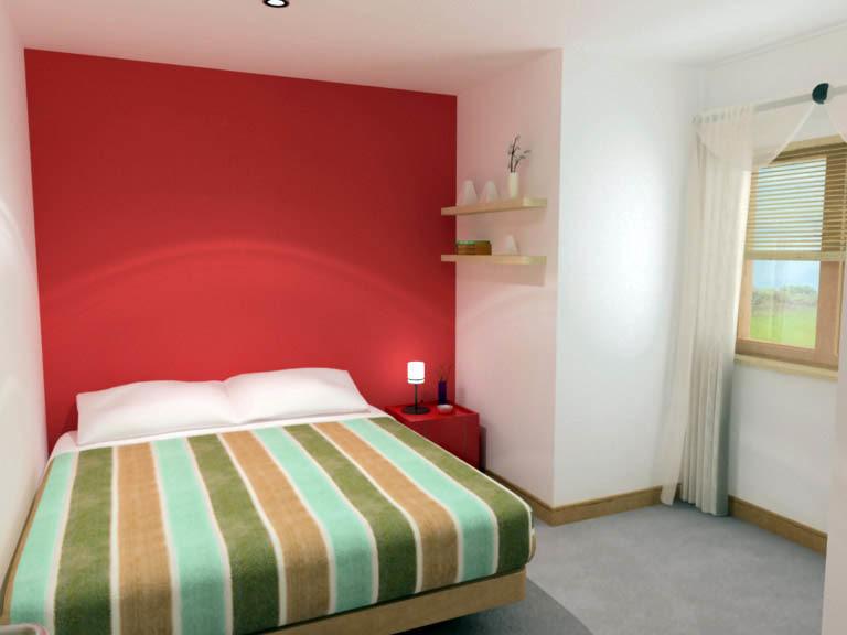 3d complete bedroom