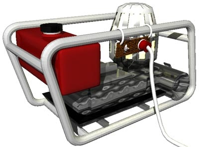 3d generator portable model