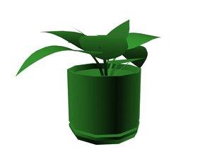 3d plants model