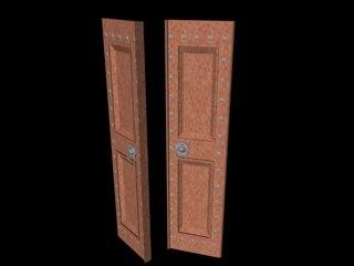 3d model heavy door