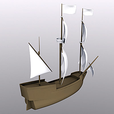 free lwo model ship sailboat