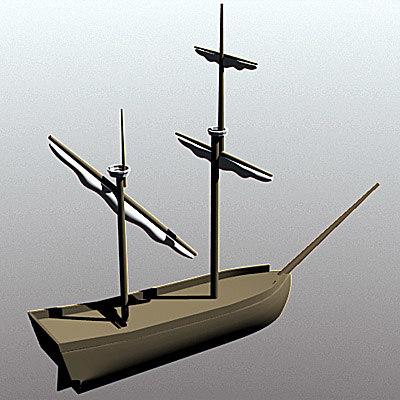 free lwo mode ship sailboat