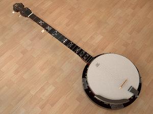 3d model banjo