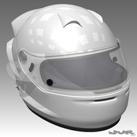 racing car helmet 3d max