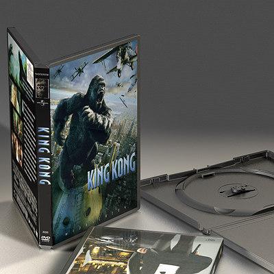 c4d dvd box case