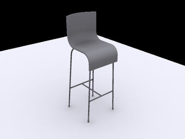bar stool 3ds free