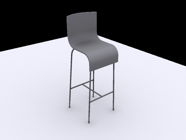 bar stool 3ds free
