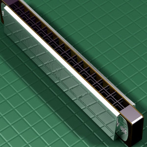 3d harmonica model