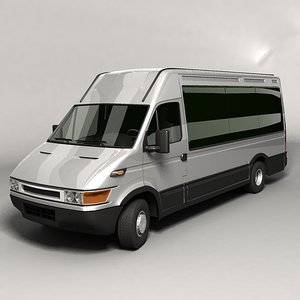 3d bus van model
