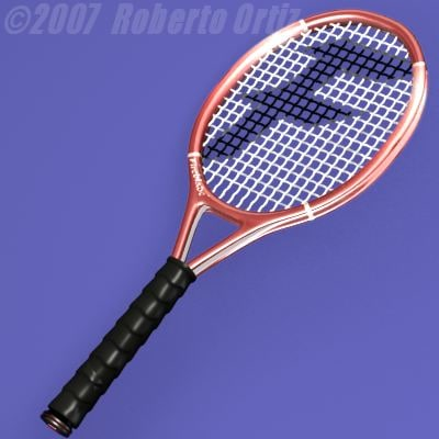 3d lwo tennis racket