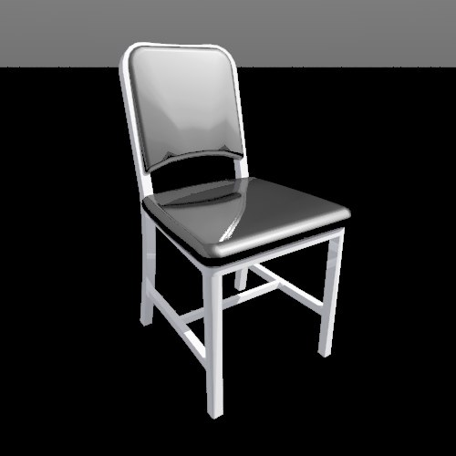 dwg navy chair