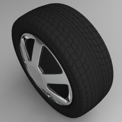 tire 3d lwo