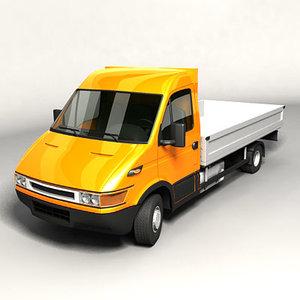 3d model of euro pick-up