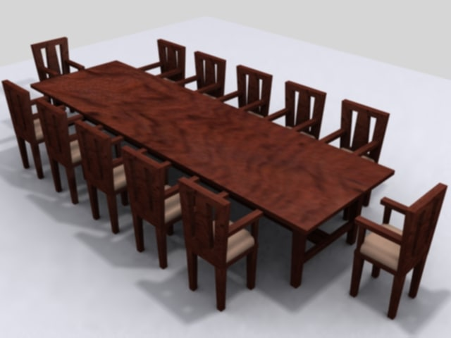 large table chairs max