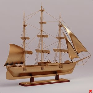 decor ship 3d 3ds