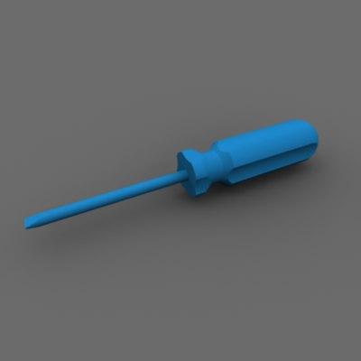 screwdriver obj free