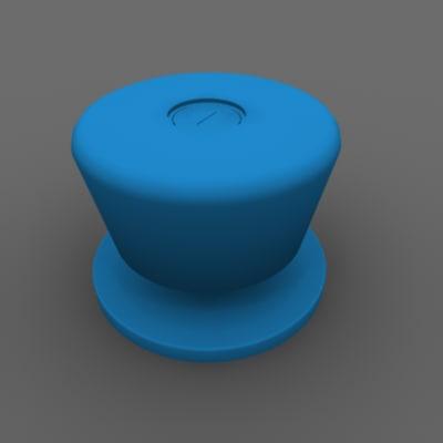 knob 3d model