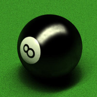 pool table ball 3d model